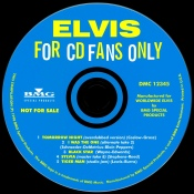 Promo CD for: 'For CD Fans Only' - second edition - DaleHampton - 1998