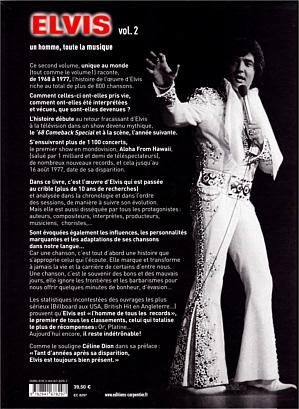 Elvis un homme, toute la musique vol. 2 - France 2013