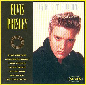 15 Rock 'N' Roll Hits - Elvis Presley Various CDs