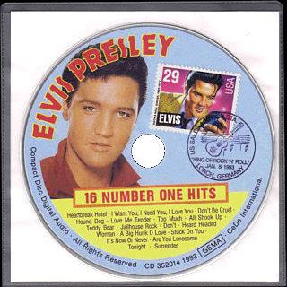16 Number One Hits - Elvis Presley Various CDs