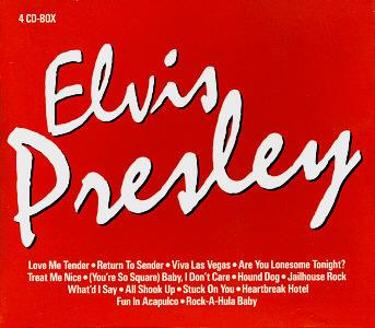 Elvis Presley 4 CD Box (Tchibo) - Elvis Presley Various CDs