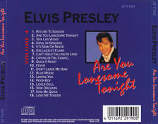 Are You Lonesome Tonight (Starlife) - Elvis Presley Various CDs