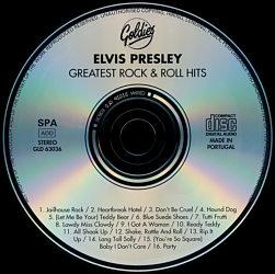 Greatest Rock & Roll Hits - Elvis Presley Various CDs