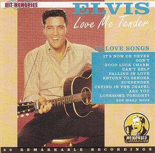 Love Me Tender - 20 Love Songs (Companion) - Elvis Presley Various CDs