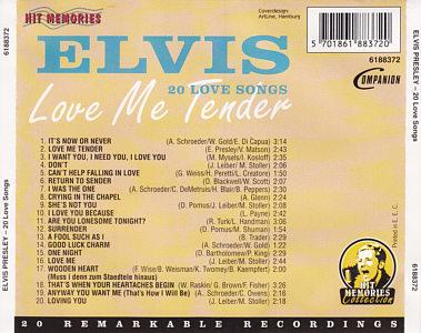 Elvis Presley Wooden Heart