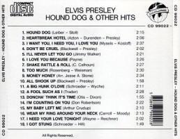 Hound Dog & Other Hits - Elvis Presley Various CDs