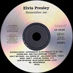 Remember Me - Elvis Presley Various CDs