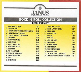 Rock 'n' Roll Collection (Janus) - Elvis Presley Various CDs