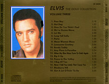 The Gold Collection 5 CD - Elvis Presley Various CDs