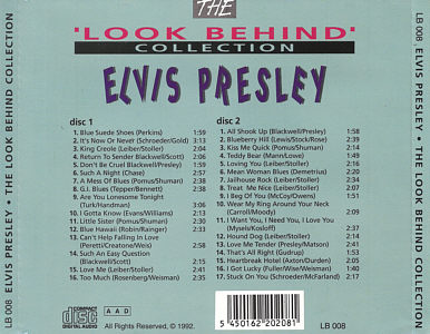 The Look Behind Collection - Elvis Presley Various CDs