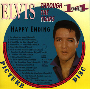 Through The Years Vol. 14  Picture Disc - Elvis Presley Various CDs