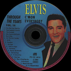 Through The Years Vol. 16  Picture Disc - Elvis Presley Various CDs