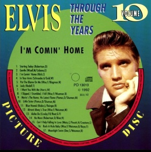 Through The Years Vol. 10 Picture Disc - Elvis Presley Various CDs