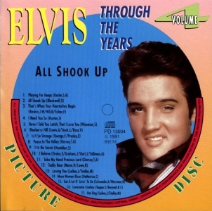 Through The Years Vol. 4 Picture Disc - Elvis Presley Various CDs