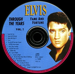 Through The Years Vol. 7 Picture Disc - Elvis Presley Various CDs