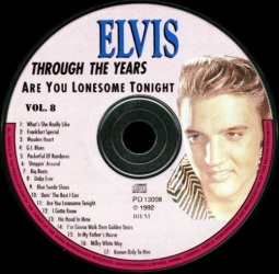 Through The Years Vol. 8 Picture Disc - Elvis Presley Various CDs