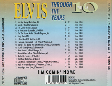 Through The Years Vol. 10  I'm Comin' Home