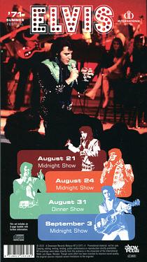 1971 Summer Festival - Elvis Presley Bootleg CD