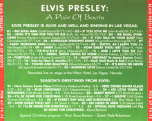 A Pair Of Boots - Elvis Presley Bootleg CD