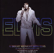 A Bright Midnight With Elvis - Elvis Presley Memory Label CD