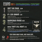 35th Anniversary Concert - Elvis Presley Promo CD