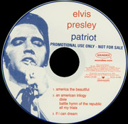 Promo CD - The Patriot Box - USA 2001