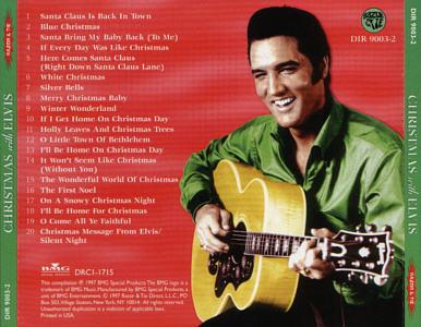 Elvis Presley Christmas Music.Elvis Presley Cd Info Rca Bmg Ftd Promotional Cd
