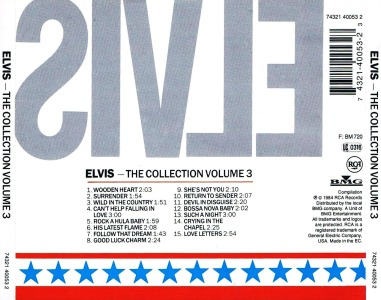 The Collection Volume 3 - Germany 1999 - BMG 74321 40053 2