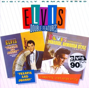 Double Features Series - Frankie and Johnny / Paradise Hawaiian Style - Gracleland Collector Box Belgium BMG - Elvis Presley CD