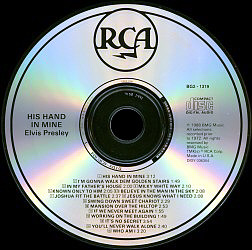 His hand in mine 2 usa 1998 crc bmg bg2 01319 for House music 1998