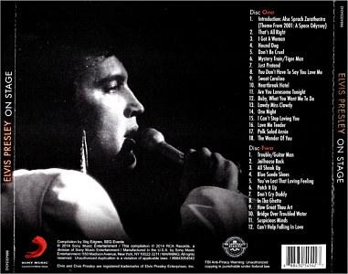 Elvis Presley On Stage Album