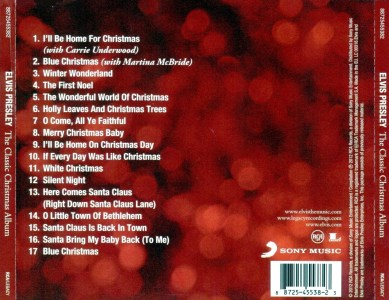 ... The Classic Christmas Album - EU 2012 - Sony Music 88725455382